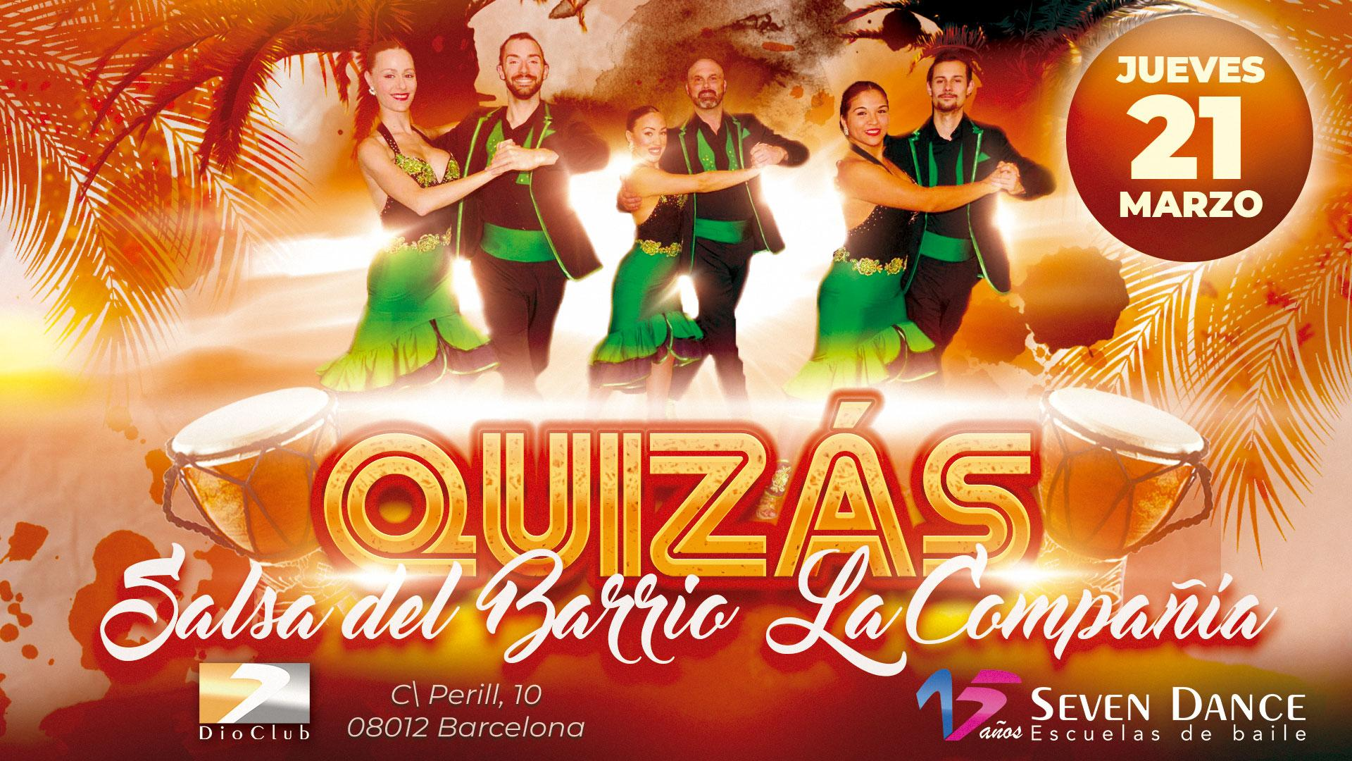 ATENCION Especial Show de Salsa del Barrio con la coreografía QUIZAS