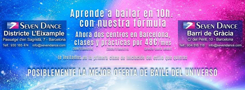 CLases gratis de salsa, bachata y bailes de salón, abril 2019