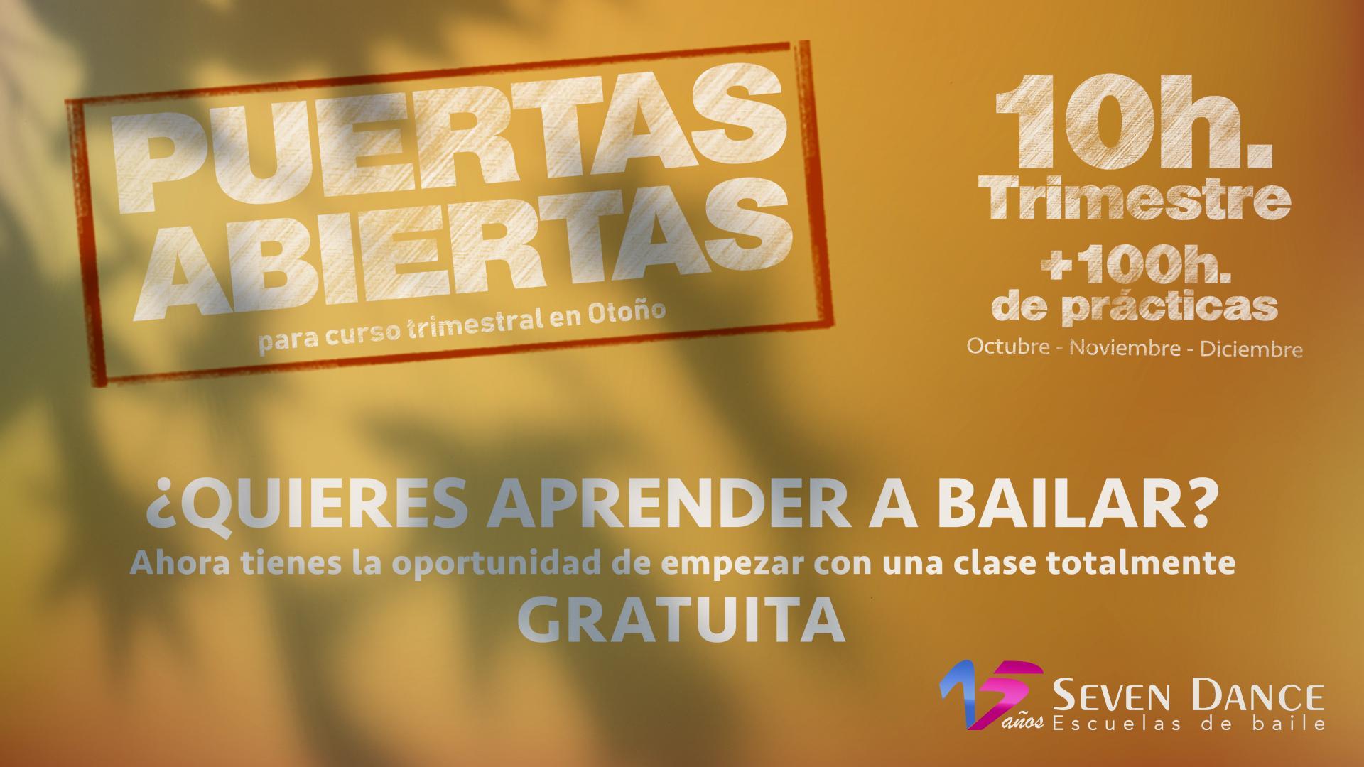 Clases gratuitas de iniciación a la  Salsa, Bachata y Bailes de salón