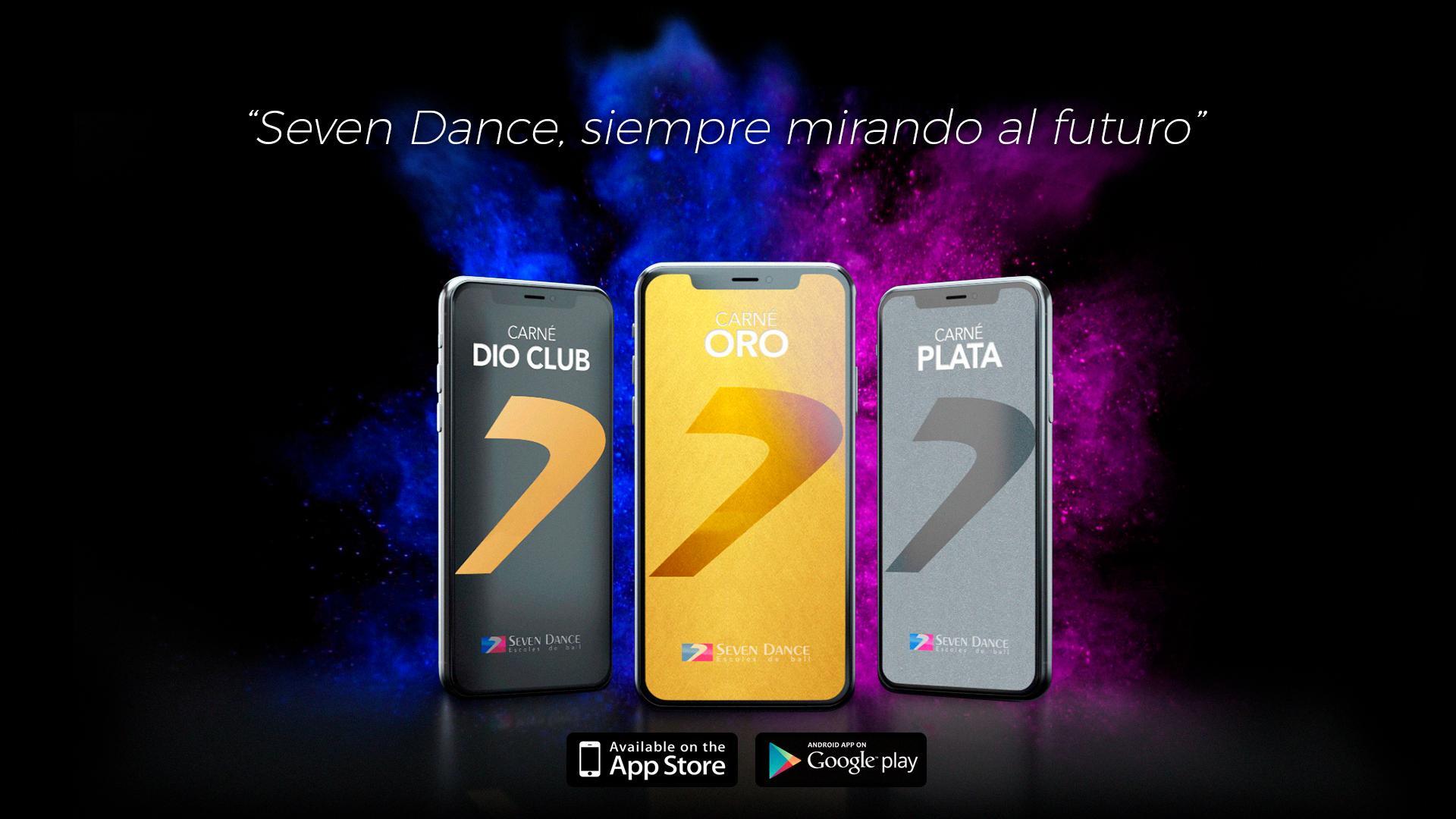 Descarga la app de Seven Dance