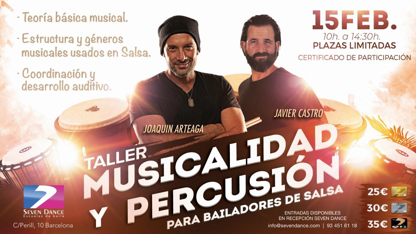 Master Class de Musicalidad y Percusión