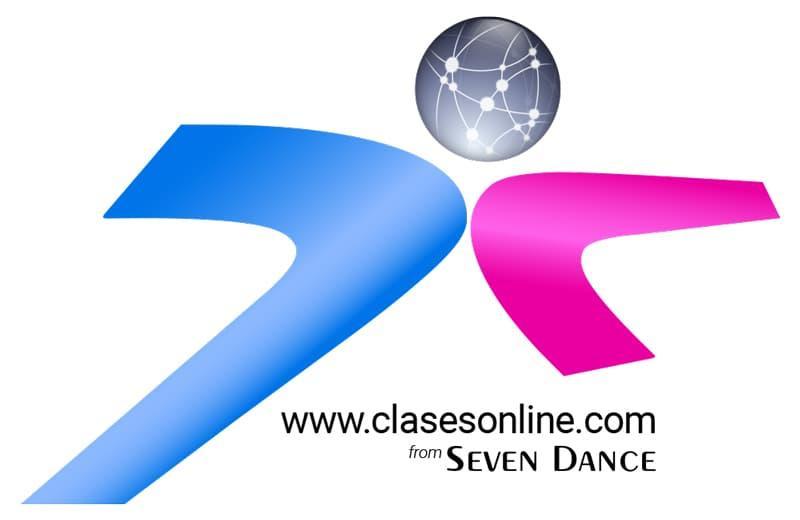 logo clases online de baile