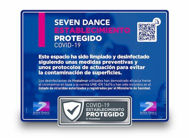 Certificado espacio protegido COVID-19