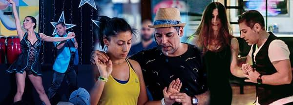 Martes 9 de febrero clase de Bachata a las 20.00 y Salsa a las 19:00 a cargo de Sonia Ortíz en las instalaciones de Seven Dance en Eixample.
