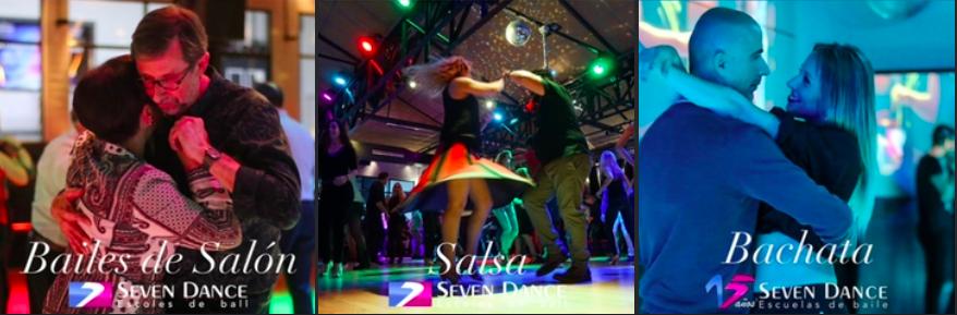 Clases Gratis para cursos de baile de Junio a Julio de 2021, Salsa, Bachata y Bailes de Salón