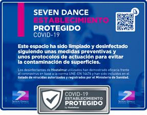 Seven dance acceso QR mobil