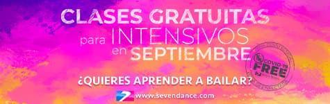 Miércoles 25 de agosto clase de Baile de Salón a las 21:00h. a cargo de María Larionova en las instalaciones de Seven Dance en el Barrio de Gràcia