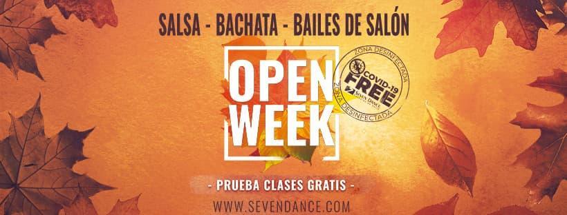 Clases abiertas en septiembre para cursos trimestrales de baile en octubre 2021