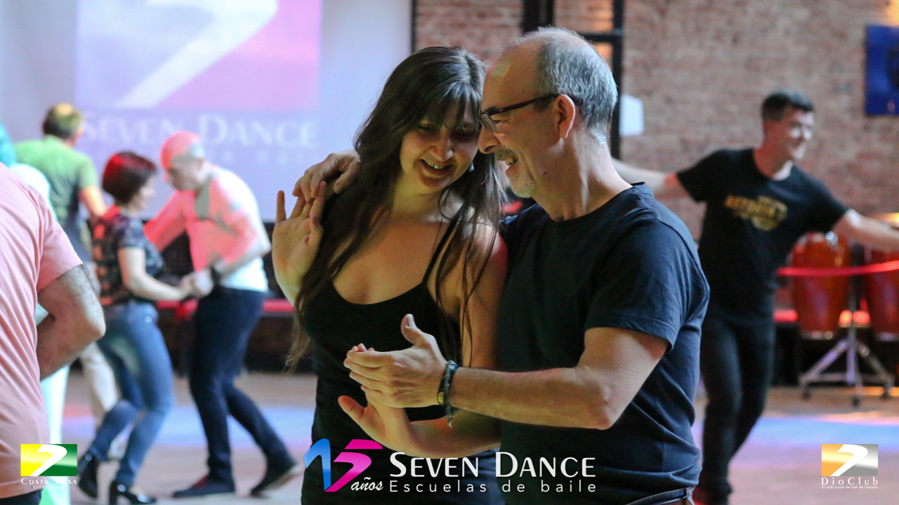 Swing & Balboa Escuela de Baile Seven Dance Barcelona prácticas
